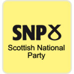 SNP logo with name