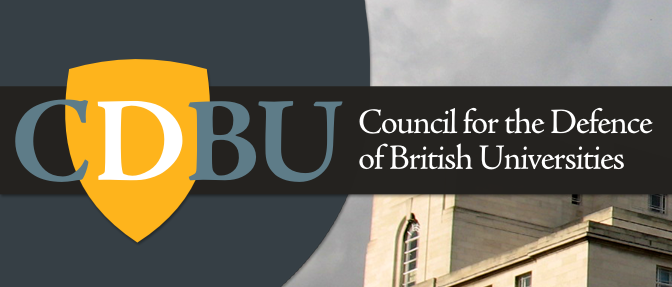 "CDBU announces new Chair of Trustees and responds to government ""Restructuring Regime"""