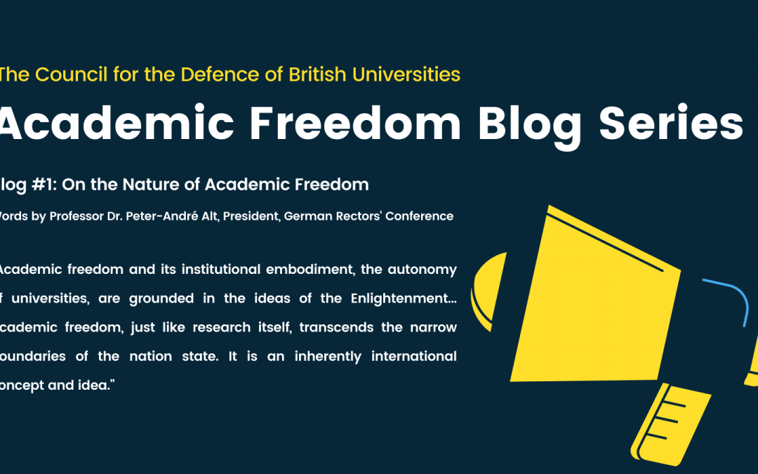 Academic Freedom Blog Series #1