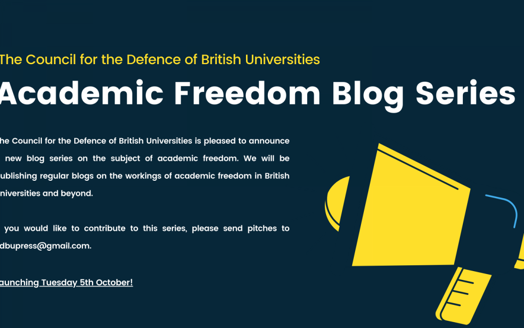New Blog Series on Academic Freedom Launching Today!